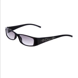 Christian Dior Tinted Rectangle Sunglasses